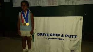 Nalani at Drive Chip Putt Regional