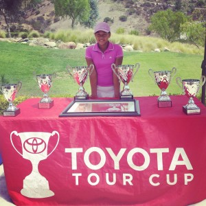 Kayla at Toyota Tour Cup