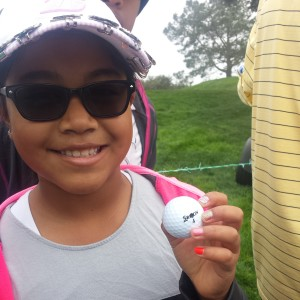 J.B. Holmes' Srixon Golf Ball at Farmers Insurance Open