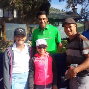 Tony Finau at Farmers Insurance Open